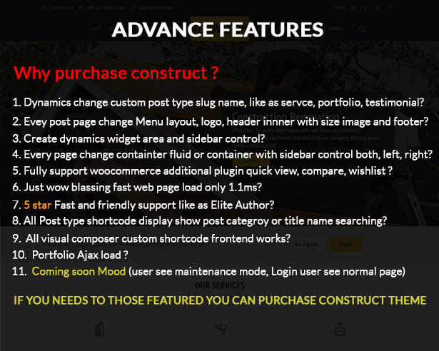Construciton template construct - construction wordpress theme nulled free download Construct – Construction WordPress Theme Nulled Free Download question3