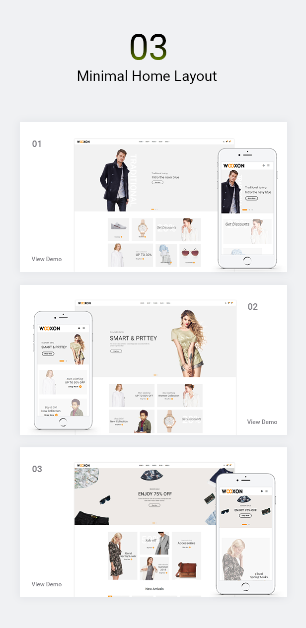 Wooxon - WooCommerce WordPress Theme - 2