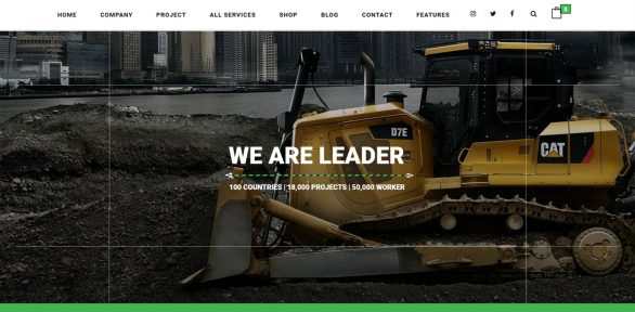 Pikocon – Amazing Responsive Industrial & Construction Company WordPress Theme Built With WooCommerce Integration