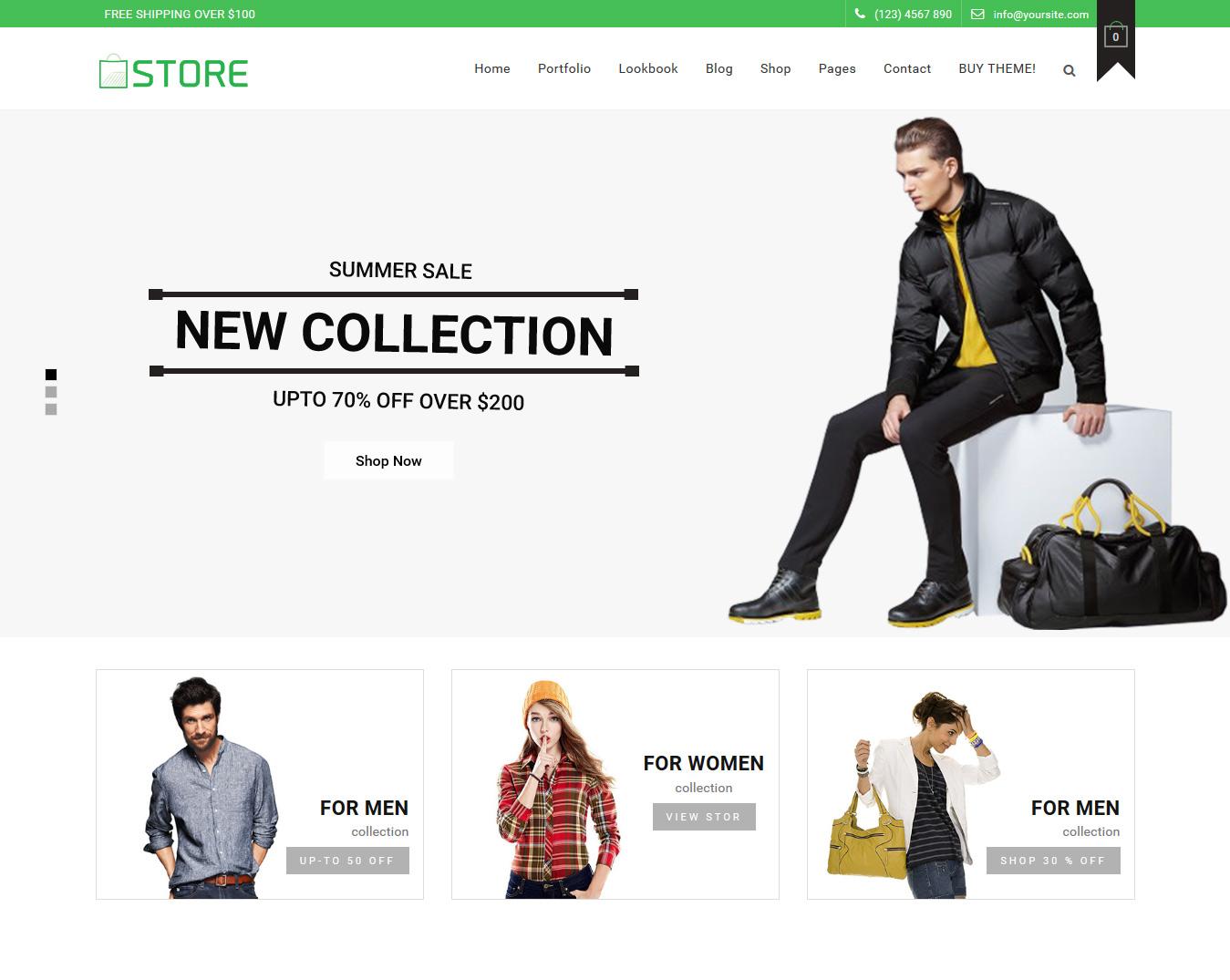 Store – WooCommerce Theme