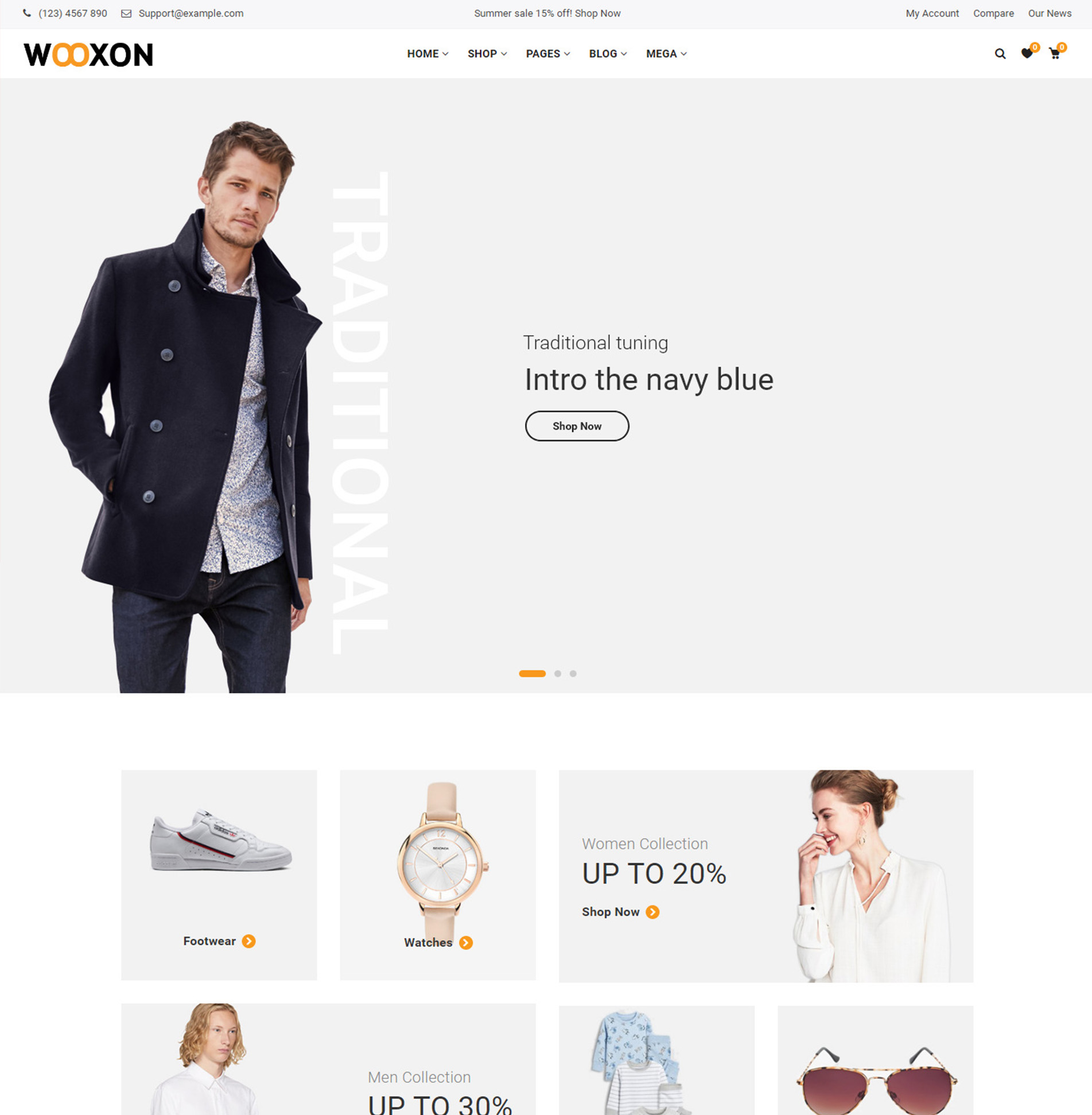 Wooxon – WooCommerce WordPress Theme