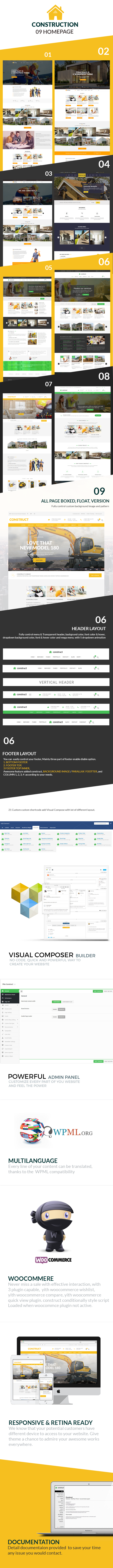 Construct - Construction WordPress Theme - 2