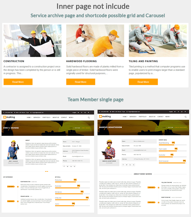 Construct - Construction WordPress Theme - 4