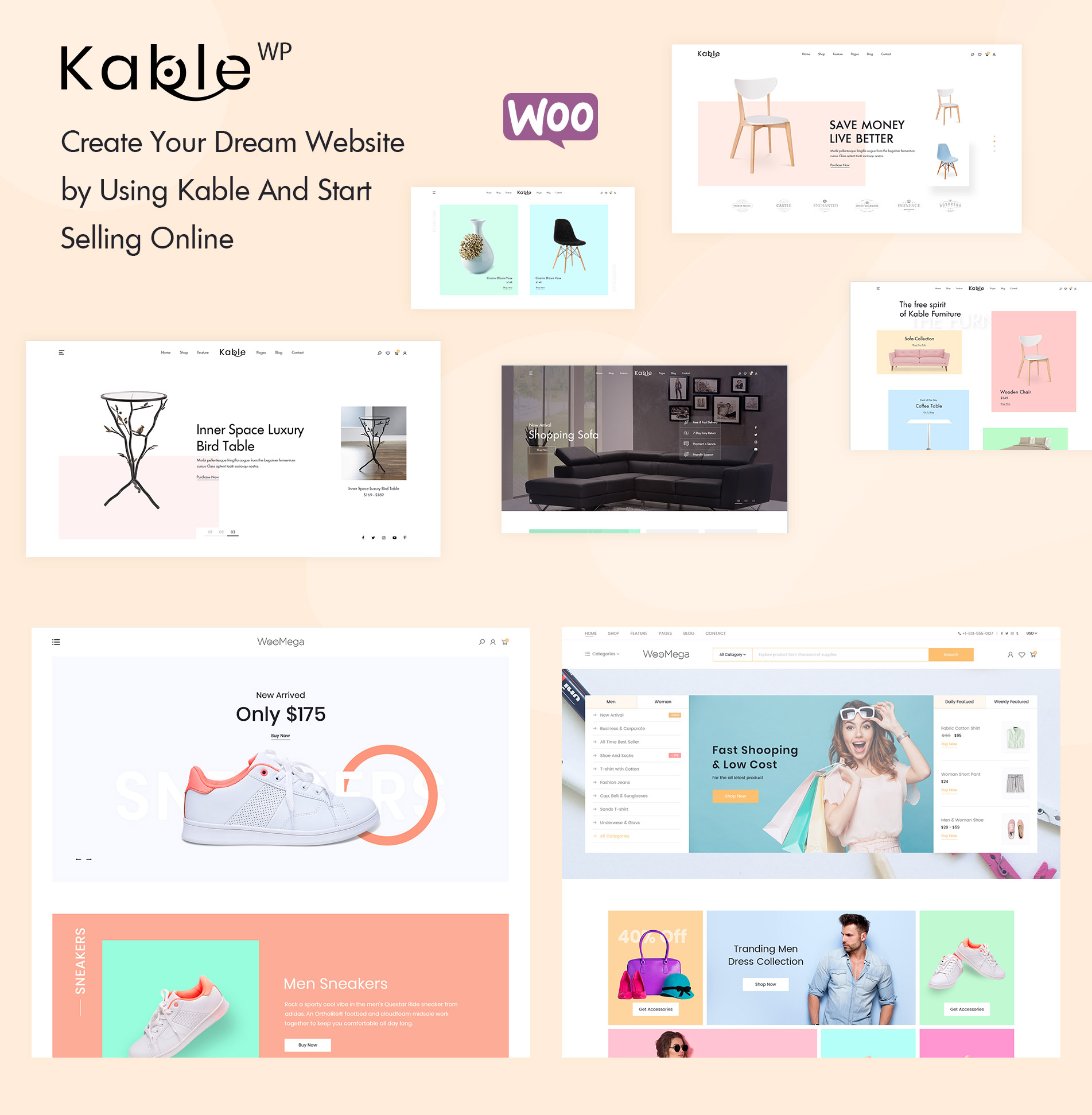 Kable – Multipurpose WooCommerce Theme