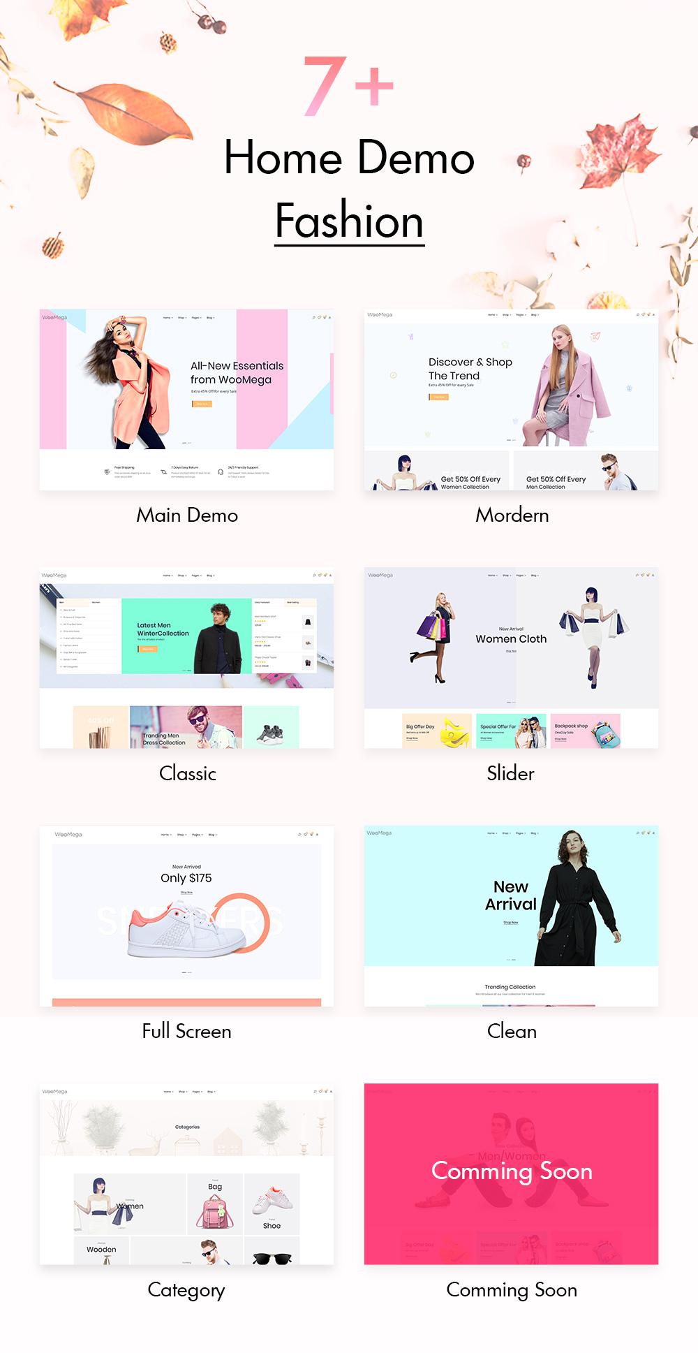 fashion themes