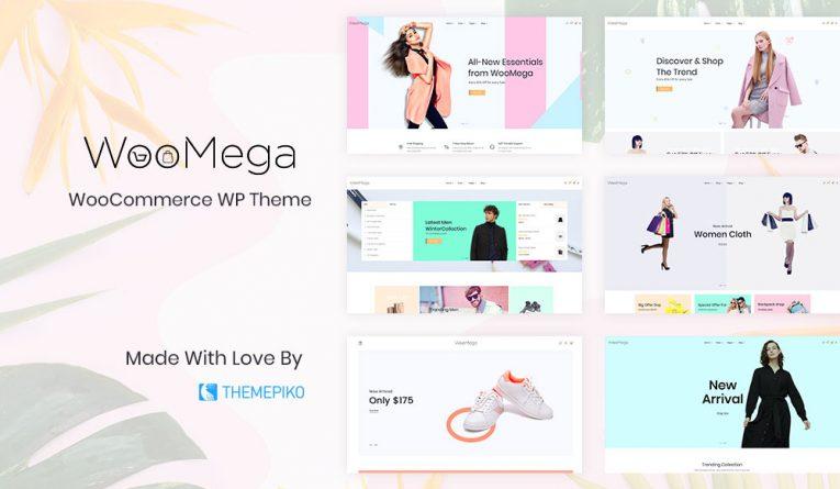 WooMega – Minimalist Fashion eCommerce theme