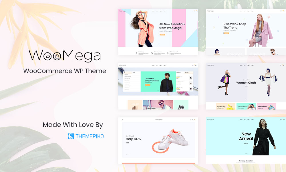 WooMega – Minimalist Fashion eCommerce theme