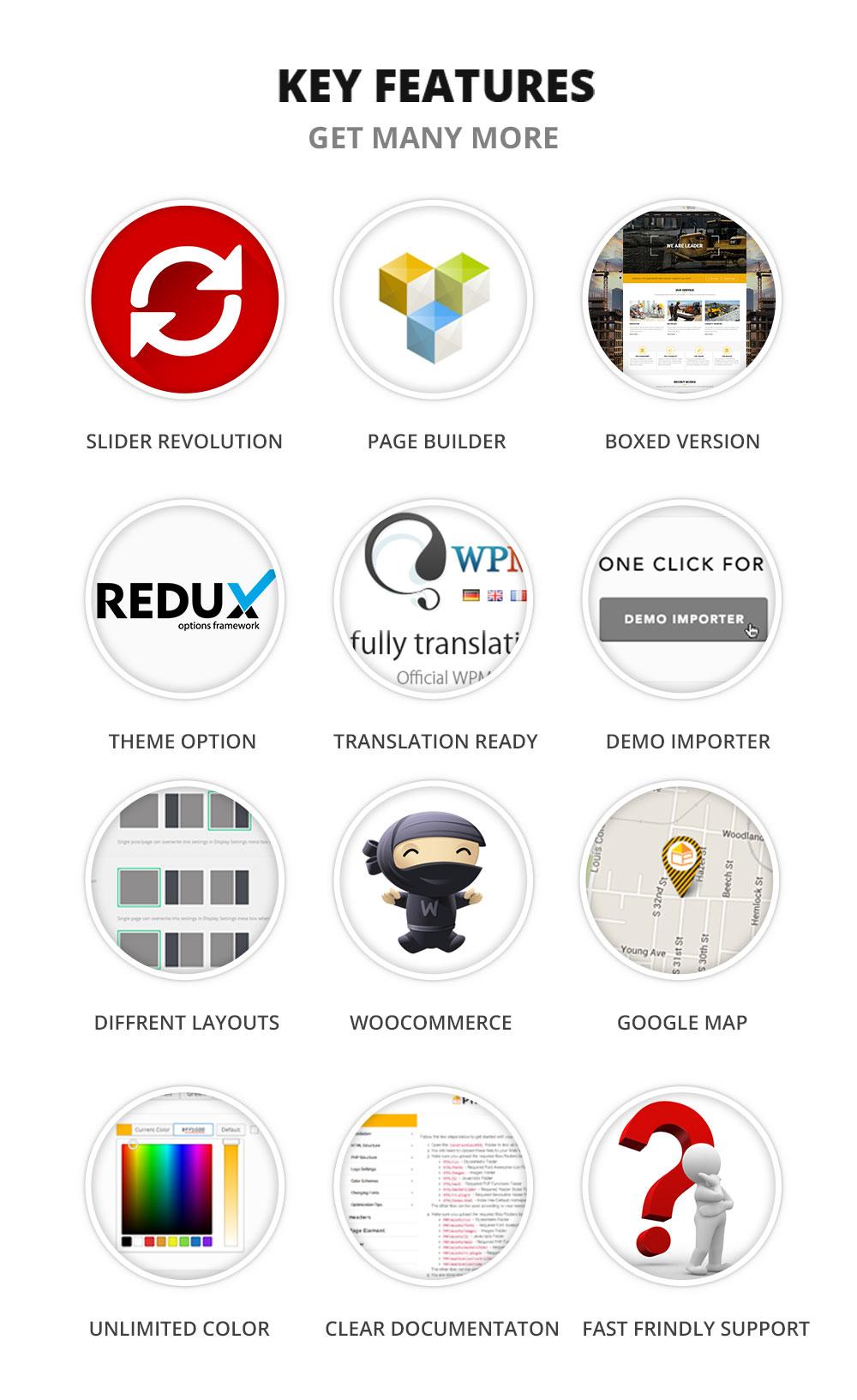 Construcx WordPress theme