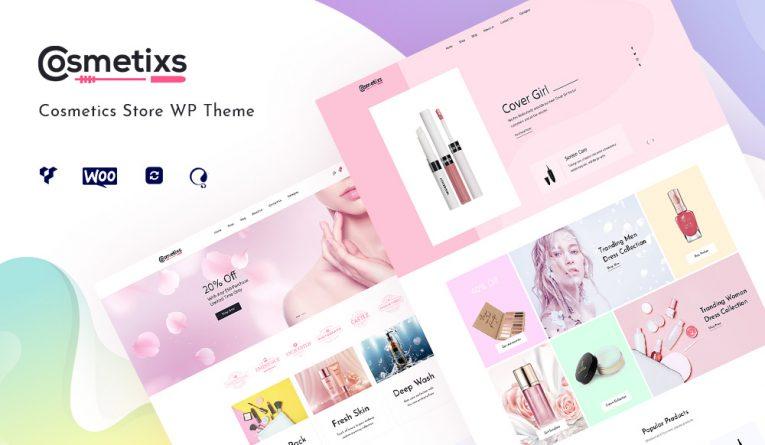 Cosmetixs – Cosmetics Store WooCommerce Theme