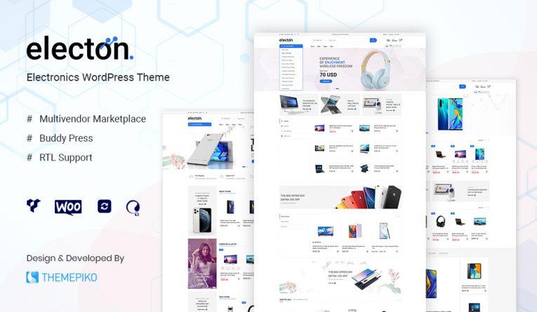 Electon – Electronics WooCommerce Theme