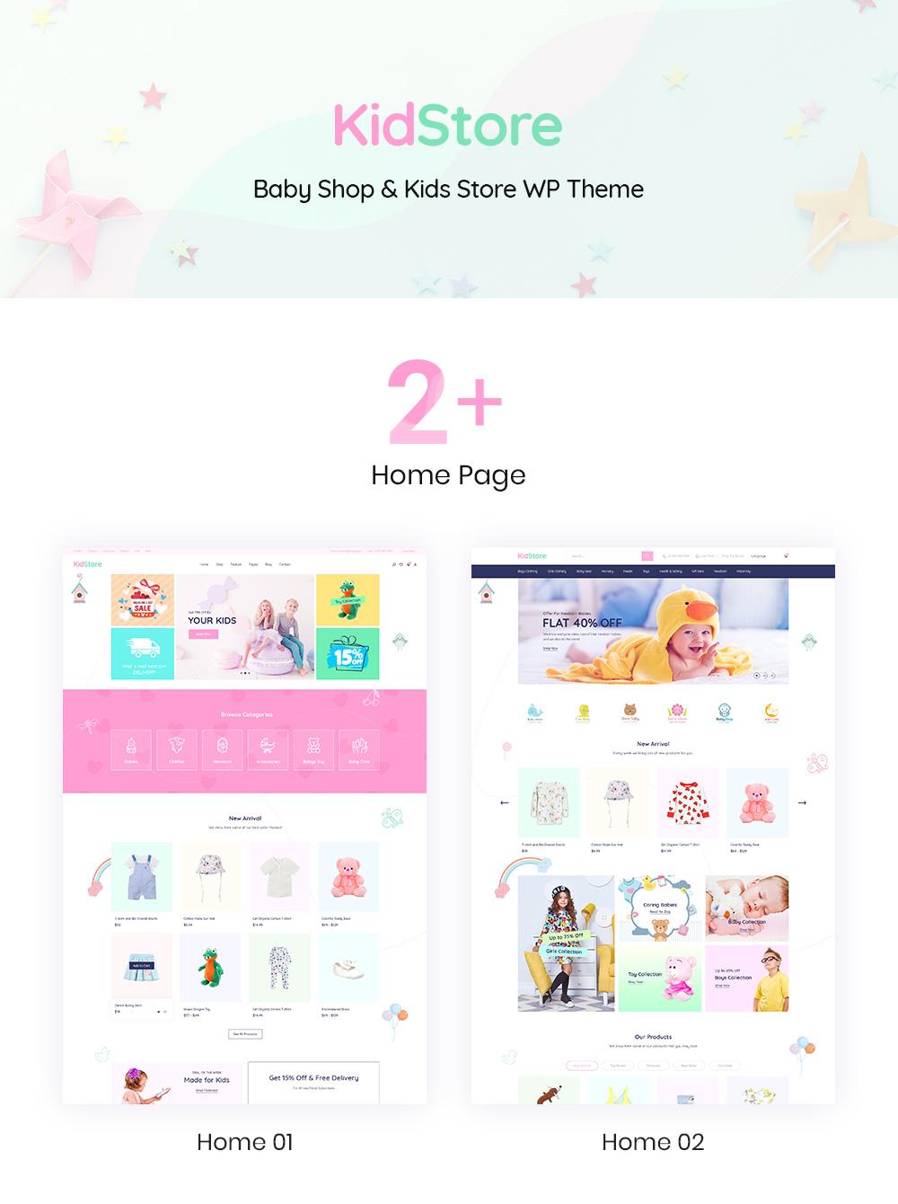 Baby Shop WordPress Themes