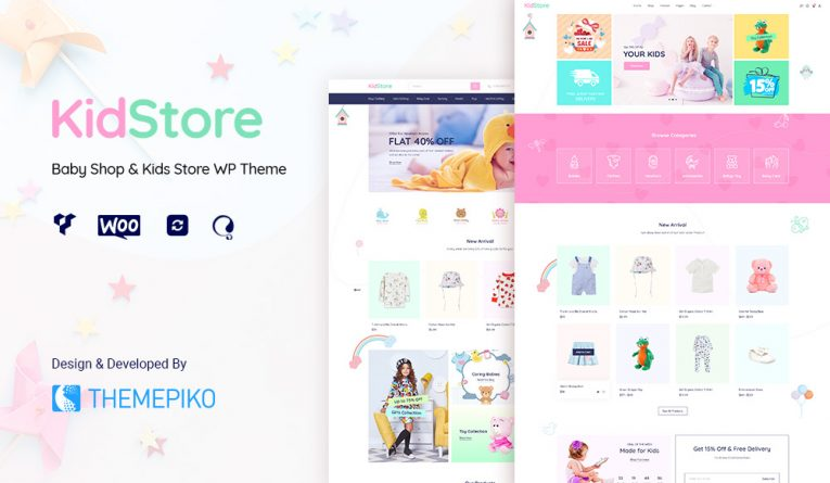 Kidstore – Baby Shop WordPress Themes from Theme