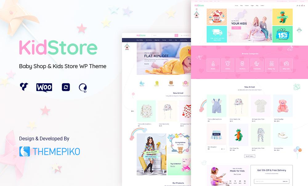 Kidstore Baby Store WordPress theme