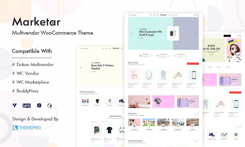 Marketar – Multi Vendor Marketplace WordPress Theme