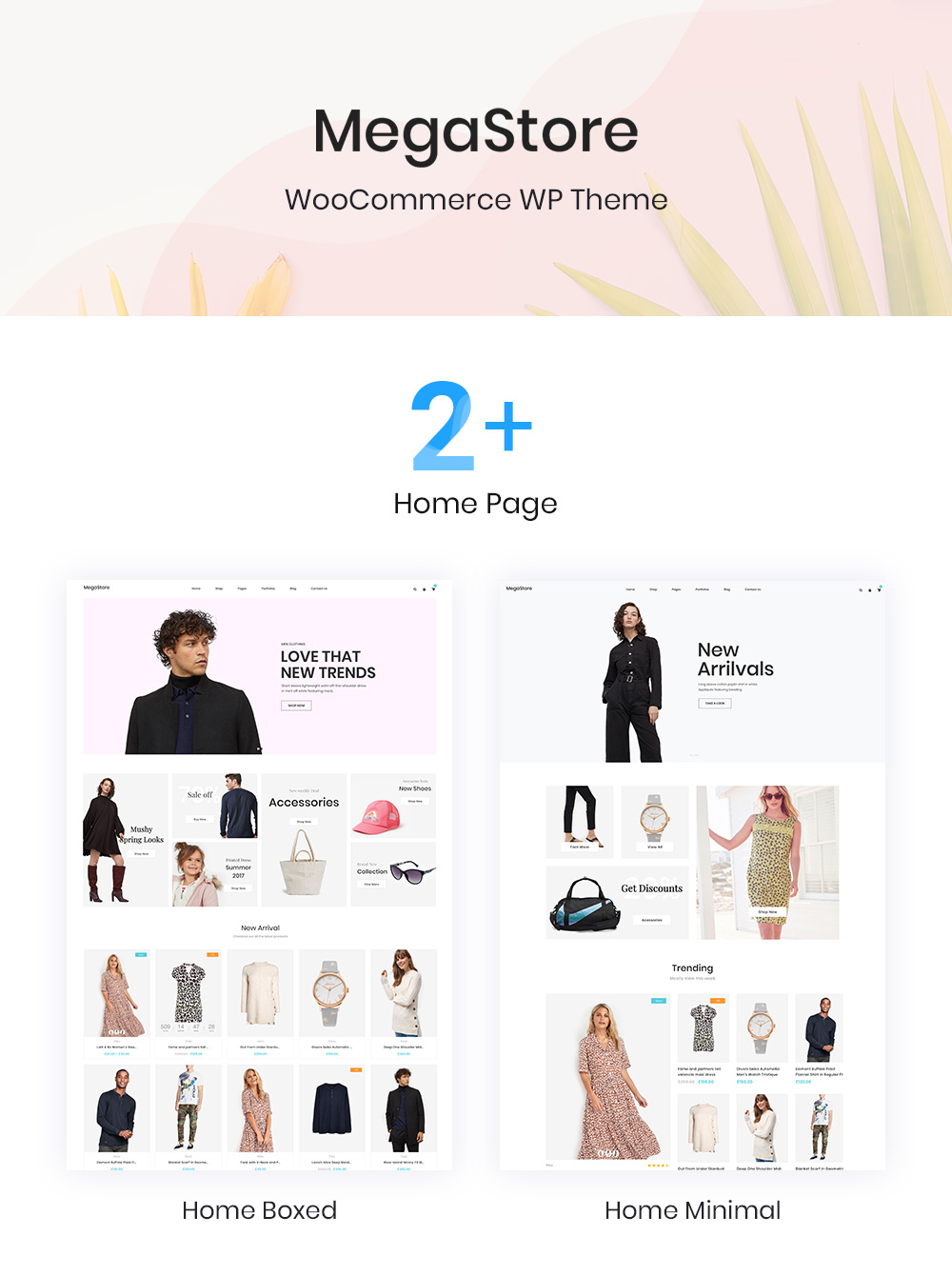 clothing store wordpress theme