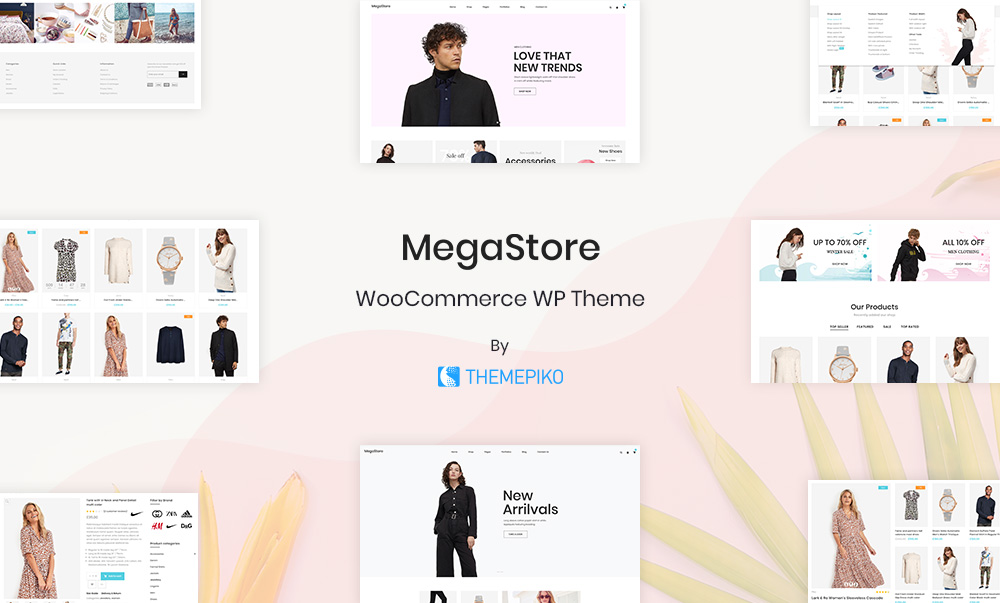 woocommerce fashion themes