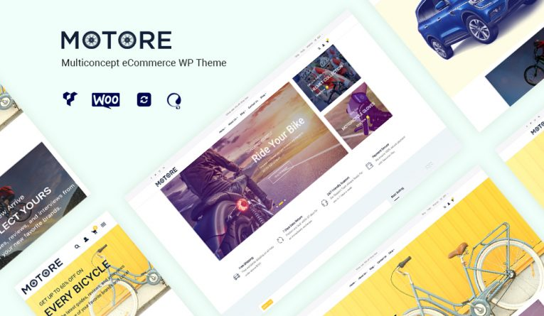 Motore – Car Dealer and Rental WooCommerce WordPress theme