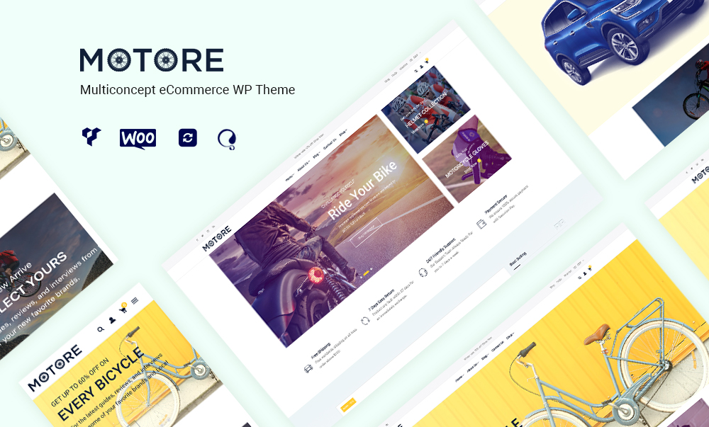 Motore – Car Dealer and Rental WooCommerce WordPress theme‎