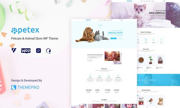 pet shop wordpress theme