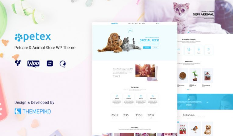 Petex – Animals and Pets WooCommerce Theme