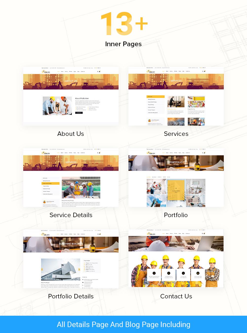 probuilder html template