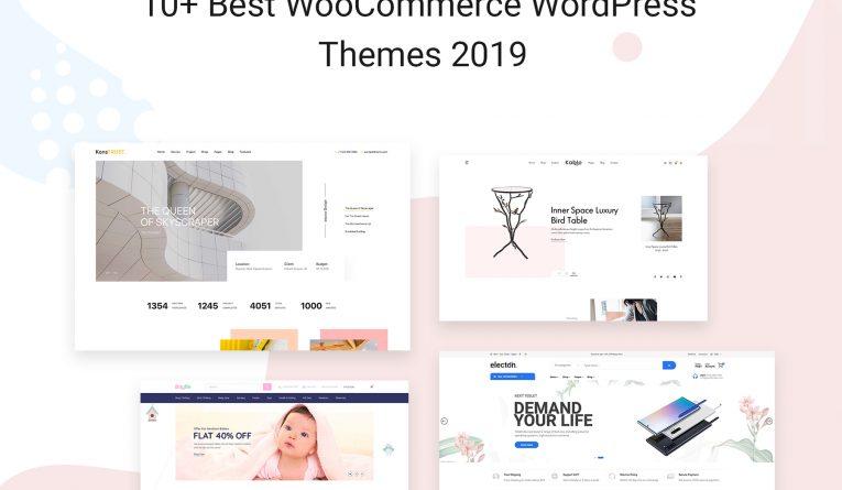 10+ Best WooCommerce WordPress Themes 2019